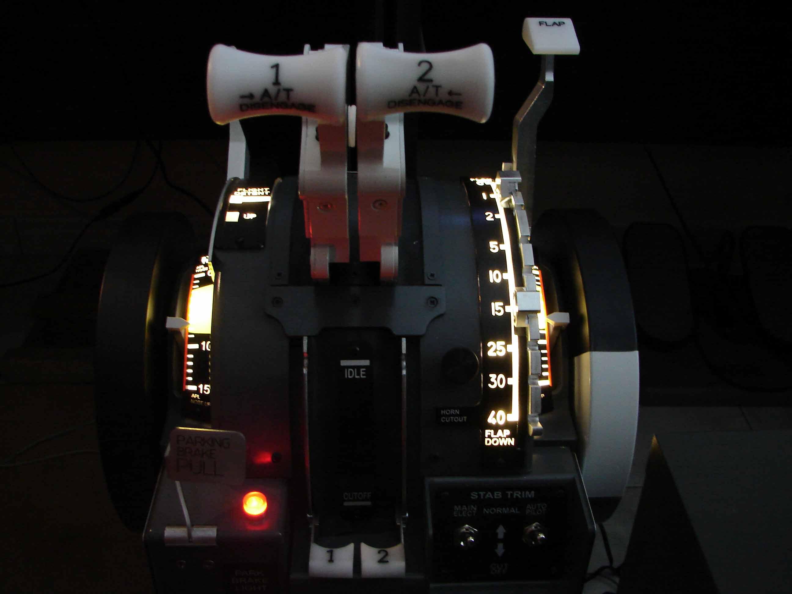 Throttle Quadrant |